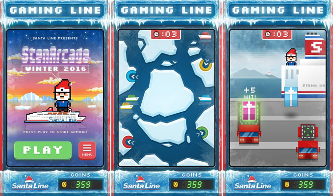 The minigames in Gaming Line