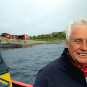 Dan Sten Olsson at Valö in the Gothenburg archipelago