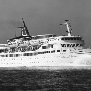 Stena Germanica at sea 1967-1973 Photo Renard