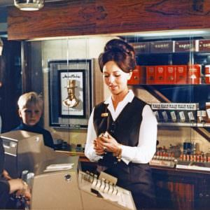 The shopp onboard the Stena Germanica I in the 60ies & 70ies