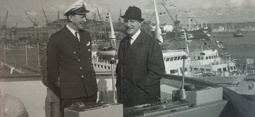 Alan Junger together with Sten A. Olsson