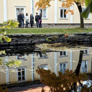 Guided fika tour in Alingsås. Photo: Jonas Ingman