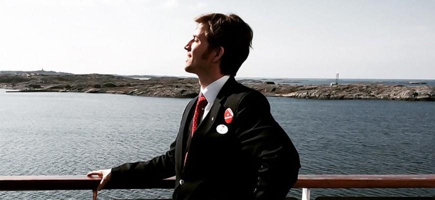 Cruise host Sigurd