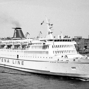 Stena Olympica in Gothenburg, June 1976