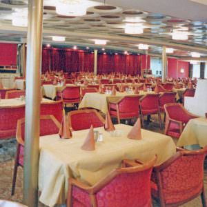 Restaurant Olympos on board the Stena Olympica