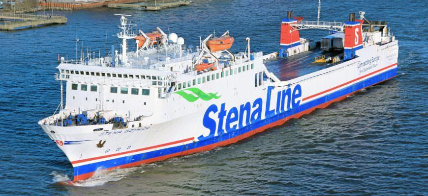 STENA GOTHICA leaving Gothenburg 20180107. by Rickard Sahlsten