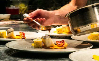 Fish dish & lobster photo, Madeleine Landley, www.westswweden.com
