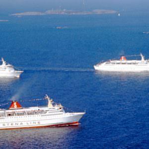 The Yougoslav built ferries