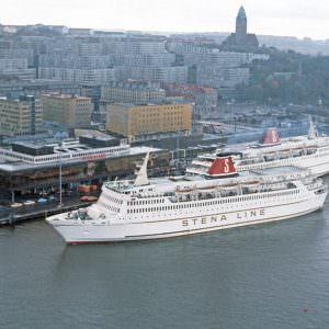 At the terminal in Gothenburg – STENA JUTLANDICA and STENA OLYMPICA